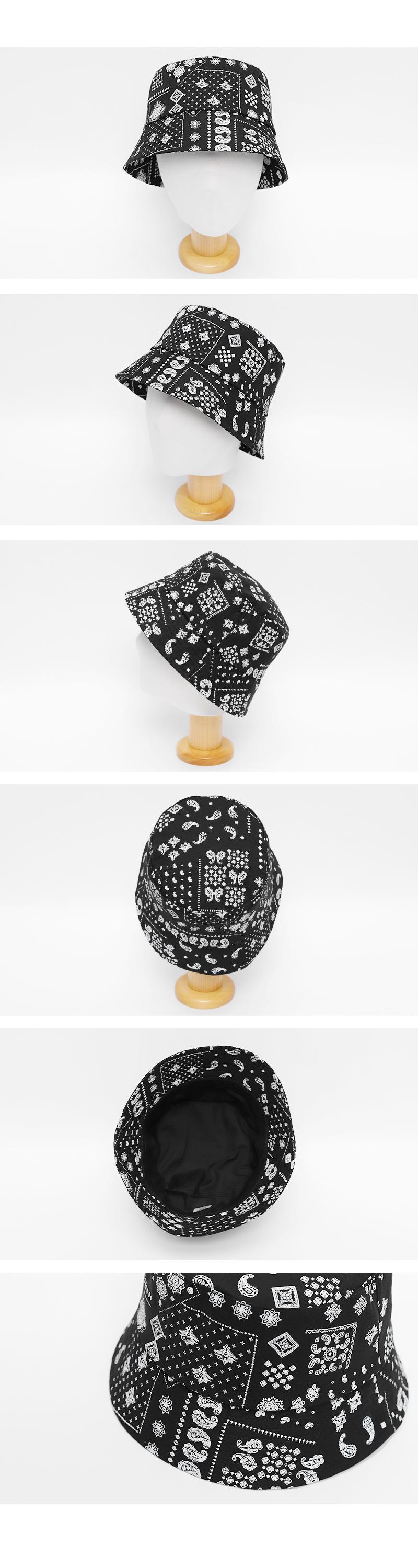 Paisley Bucket Hat-holiholic.com